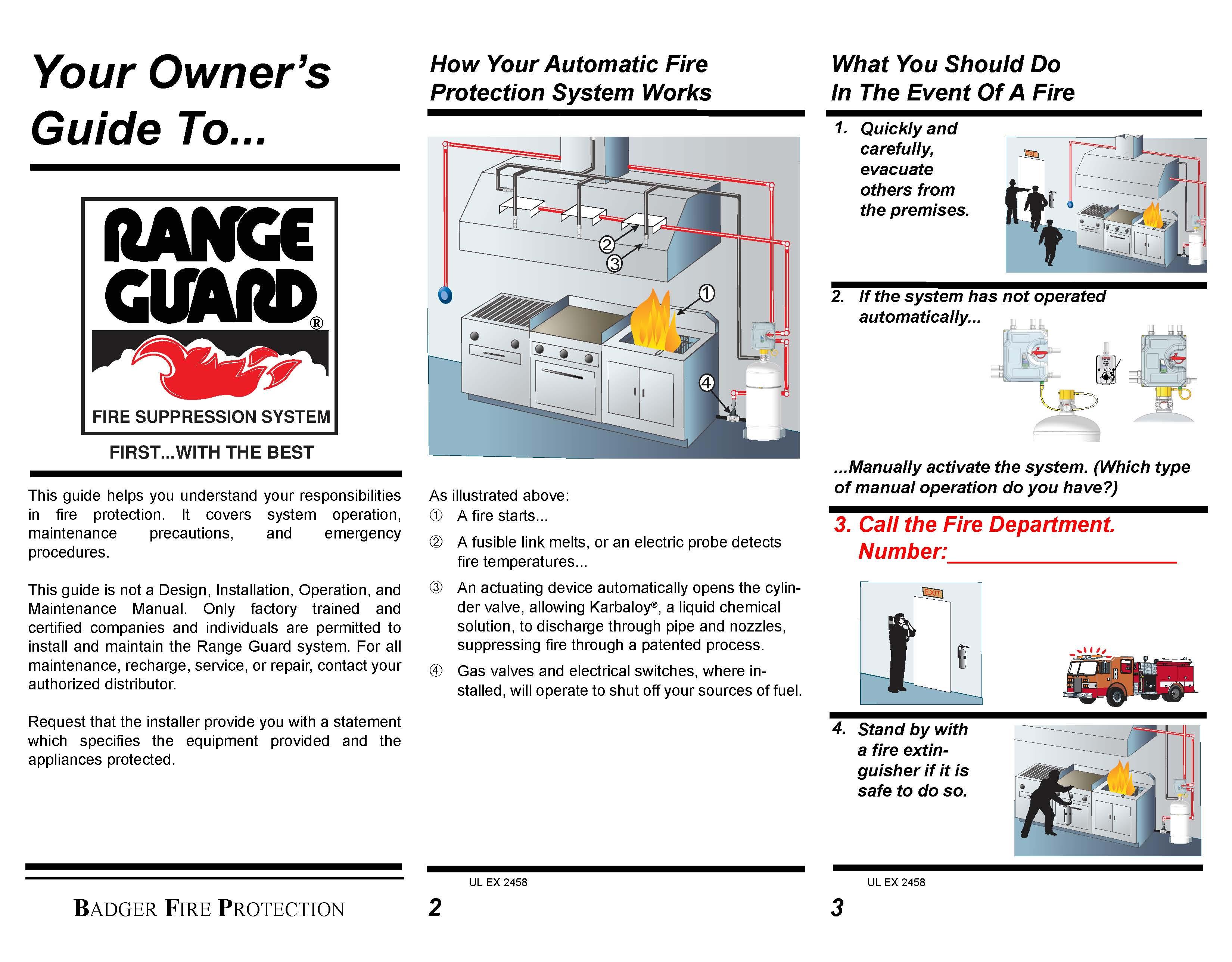range guard engine by igetweb com rh firecorner igetweb com range guard installation manual badger range guard installation manual